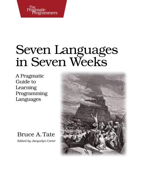 My Bookshelf 3/5: Seven Languages in Seven Weeks