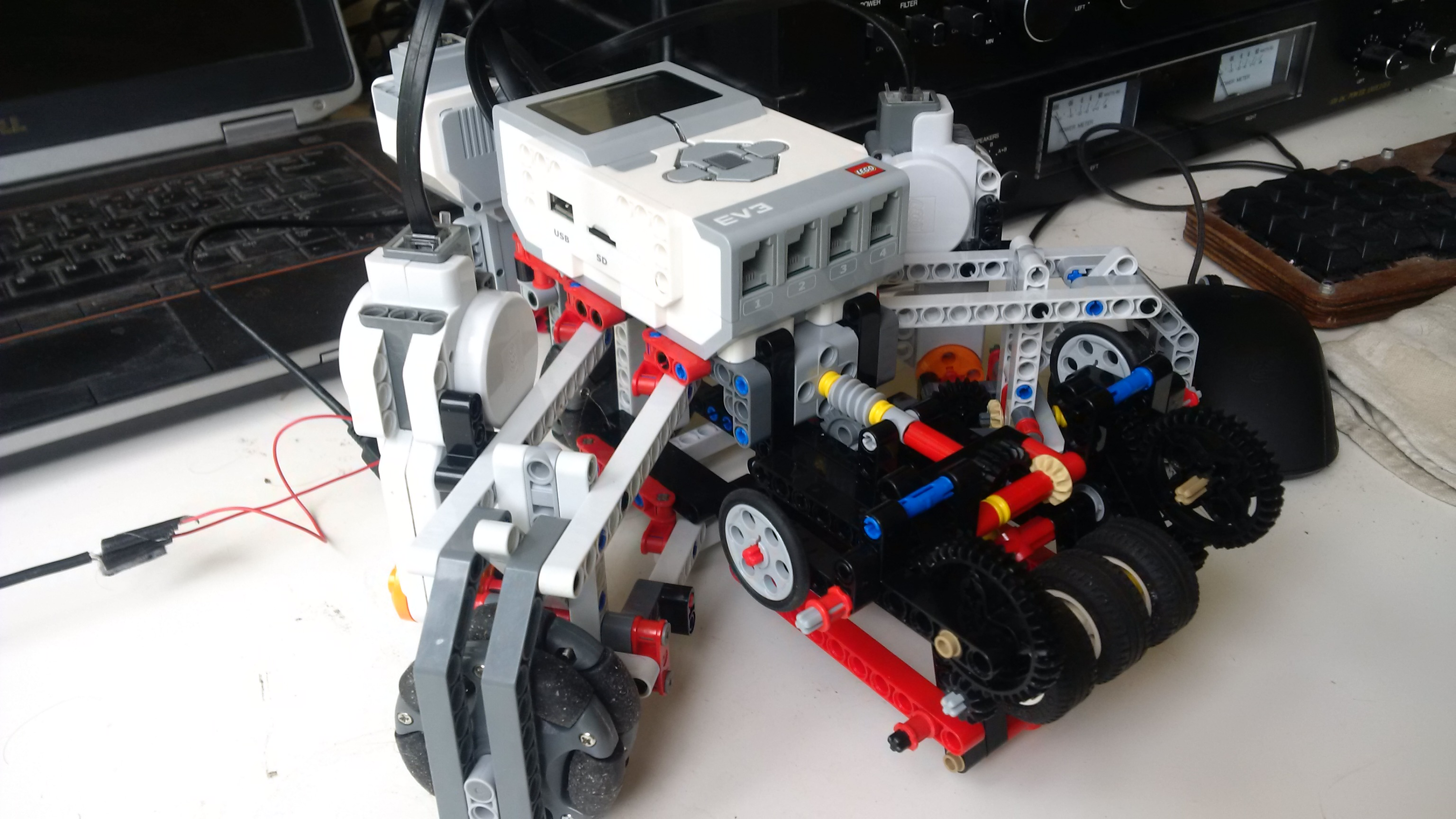 EV3 soccer robot with ROS - Wishful Coding